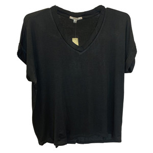 Drop Shoulder V-Neck Tee