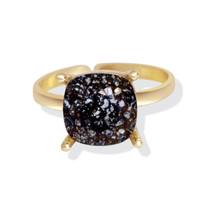 MYRA Black Forest Swarovski RIng