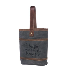 MYRA Wine Flies Double Wine Bag