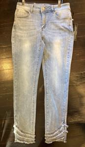 Charlie B Triple Fringe Jeans