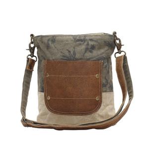 MYRA Leather Pocket Shoulder Bag