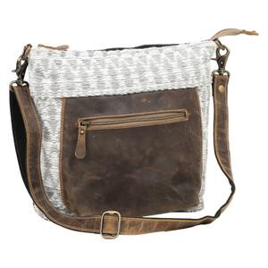MYRA Pebbly Shoulder Bag