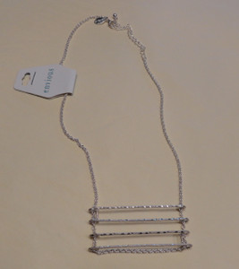 Wire Ladder Necklace