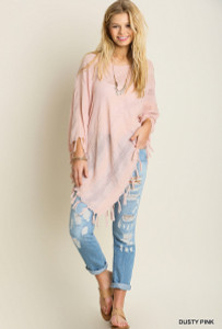 Handkerchief Top w/Fringe