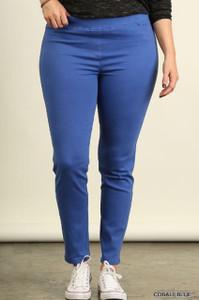 Plus-size Cobalt Blue Leggings