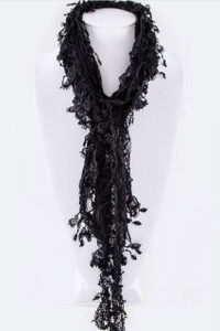 Fringe Lace Fashion Scarf