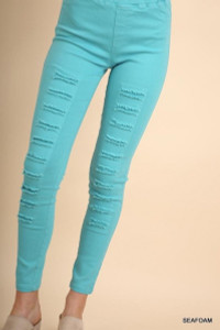Distressed Jeggings (4 colors)