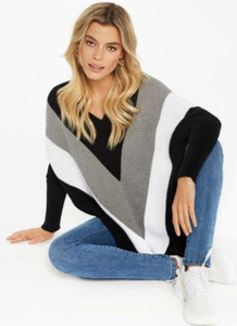 Charlie B Chevron Sweater