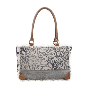 MYRA Leaf Print Small Bag