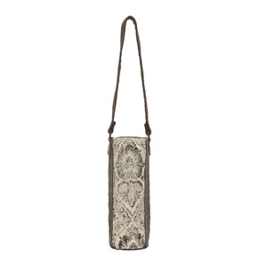 MYRA Floral Print Wine Bag