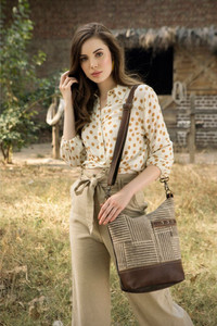 MYRA Coffee Shoulder Bag