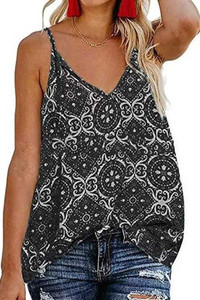 Baroque Print Tank Top