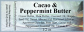 Cacao & Peppermint Butter
