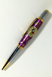 Mickey Mouse watch dial pen