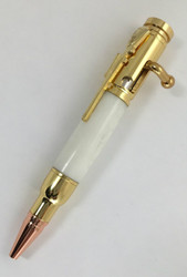 mini bolt action ball point pen