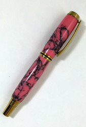 Clayton Pen in Rhodonite Stone