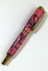 Clayton Pen in Rhodonite Stone