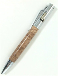 Maple burl wood handmade pen