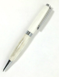twist pen in deer antler