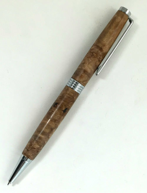 wood ball point pen