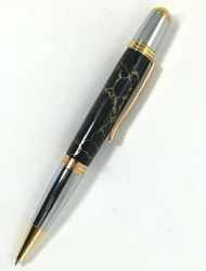 black jasper stone twist pen