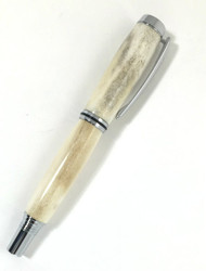 Deer antler fountain pen