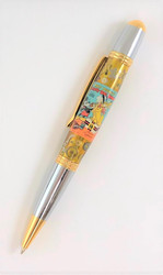 Pen made with Mickey Mouse Society Dog Show watch