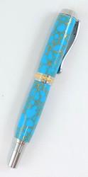 Handmade turquoise pen