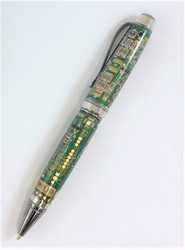 Pen made with actual circuit board