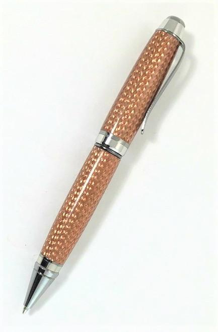 Copper mesh handmade pen
