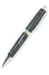 Bradley Pen in Black Gold Crush