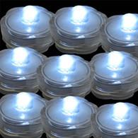 TDLTEK submersible Led Lights - Tea Lights - For Wedding ,Special Events, 36 Pack White