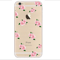 Ultra Slim Soft TPU Silicone Clear Shockproof Case Cover For iPhone  6 6s Plus