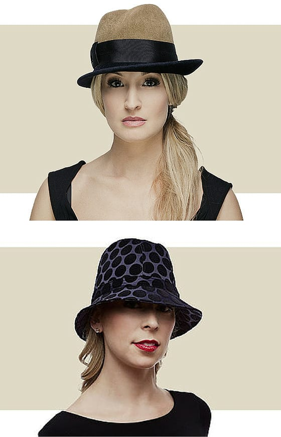 Women's cloche hats