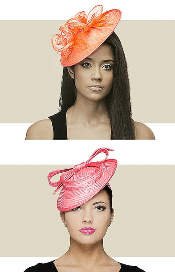 Women's fascinators for church