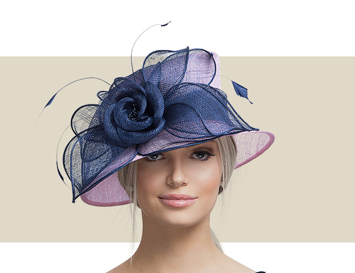 6cd46970f5155 KENDALL - Light Pink and Navy Blue - Gold Coast Couture