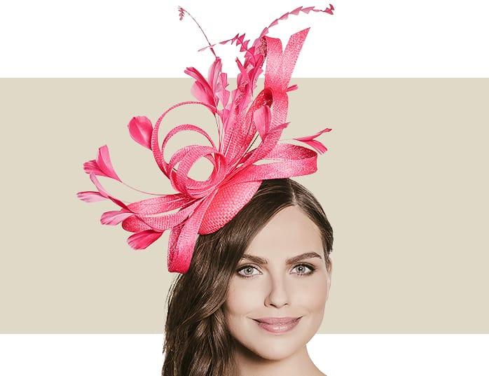 Navy Blue Feather Fascinators - Women s Wedding Headpieces 154257a9149