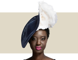NEW PROPORTION SWEEPING WAVE - Navy and Ivory