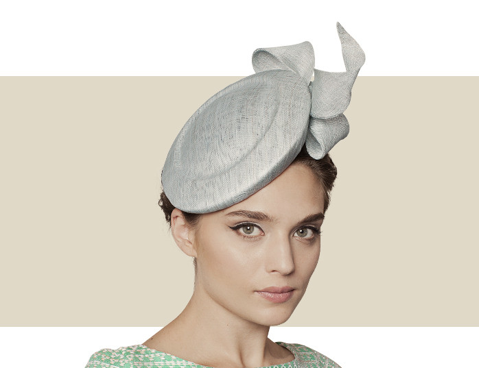 Andora Mint Green Fascinator Hat with Bow Trim a89af739c21