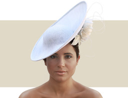 CRECENDA - Light Blue and Ivory