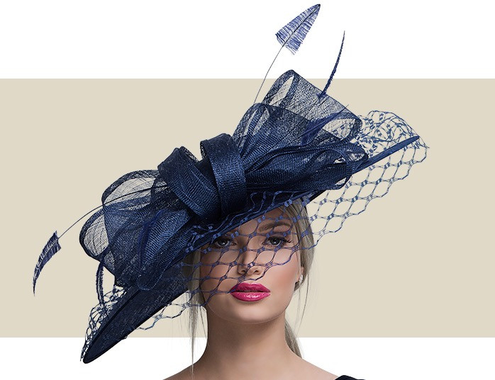 7fa66403a49d1 VERY VICTORIAN - Navy Blue - Gold Coast Couture