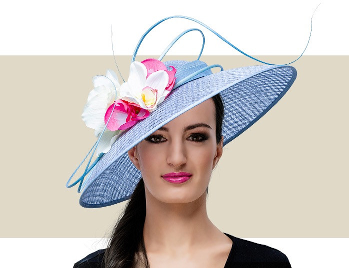 5f9d60493563e Home · Kentucky Derby Hats  CREE - Powder Blue