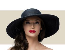 SMALL SUN HAT - Black