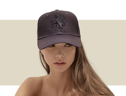 DESIGNER BASEBALL CAP - Navy Blue