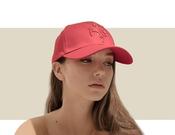 DESIGNER BASEBALL CAP - Red