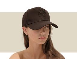 DESIGNER BASEBALL CAP - Black