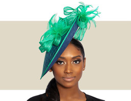 KRISSY - Navy Blue and Green