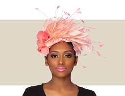 FRIDA - Two-Tone Coral Headdress