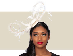 WISPY FASCINATOR - Ivory