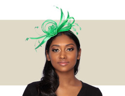 SPRING FASCINATOR - Summer Green